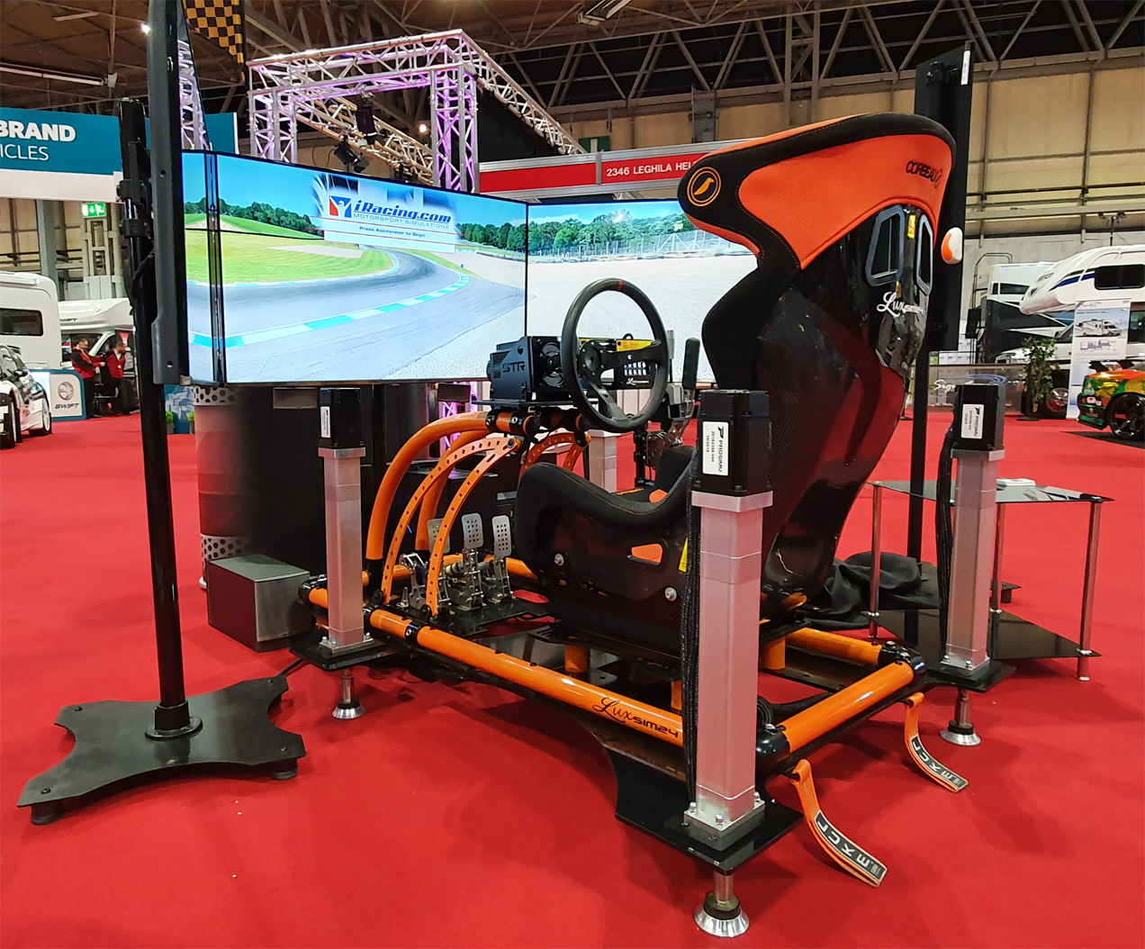 Luxsim24 Professional Motion Simulator